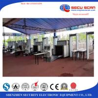 Best X Ray Inspection Machine With Alarm / Airport Security X Ray Scanner wholesale