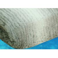 Rabbit Fur Personalised Adult Blanket Plain With SO9001 / SGE