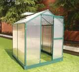Best 10*16ft hot sale greenhouse with four windows wholesale