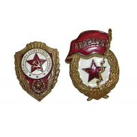 China Light Weight Custom Metal Pin Badges Injected Or Debossed Logos Long Service Life on sale