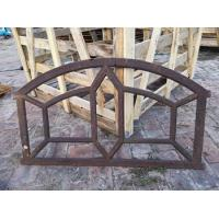 Best Ancient Buiding Decorative Reclaimed Metal Window Frames Cast Iron For House wholesale