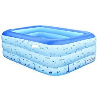 Best Family 3 layers 210cm Giant PVC Inflatable Swimming Pool wholesale