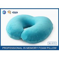 Best Kids Easy Comfort Memory Foam U Shaped Trave Pillow For Air / Car and Home wholesale