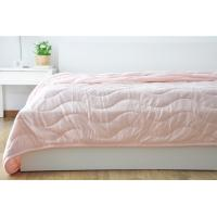 Best Customized Waved Microfiber Quilting Blanket For Adults / Kids Single Size wholesale