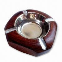 Best Ashtray, Made of Wood, Customized Designs are Acceptable wholesale