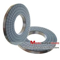 China Vitrified bond superabrasive CBN grinding discs for polishing  gina@moresuperhard.com on sale