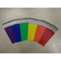 Best Pony Hair Artist Painting Brushes Set Long Handle With 6 Sizes 12 Pcs Per Size wholesale