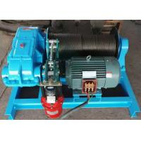 Best High Performance Moterized Shipyard Use Electric Power Source Cable Pulling Winch 10 Ton 15 Tons wholesale