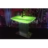 China Illuminating Led Bar Table Led Poseur Tables Party Event Disco Night Club wholesale
