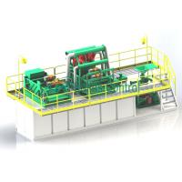 Best Compact Structure Drilling Mud System Energy Saving Easy Operation ISO9001 wholesale