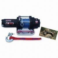 Best Auto Winch with 3 Stage Planetary Gear Train and 138:1 Gear Ratio wholesale