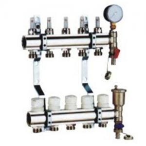 China DZR Brass Heating Manifolds on sale