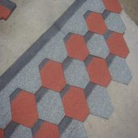 Mosaic spanish asphalt Roofing Shingles roofing tiles for architecture