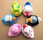 Best Custom PVC duck bathroom cartoon TOYS for kids or promotion wholesale