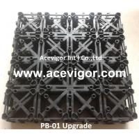 Best PB-01 Upgrade Interlocking Plastic Grid for DIY deck tiles wholesale