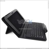 Best Black Litchi Pattern Bluetooth Keyboard for Samsung 8.9 P7300 Leather Case, Pouch Case for Samsung P7300 P-SAMP7300CASE006 wholesale