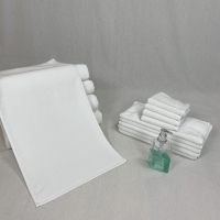 Best Rectangular Water Absorbent White Cotton Face Towel wholesale