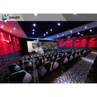 China 4D Motion Seat Equipment With Snow, Rain, Lightning, Smoke Simulator System on sale