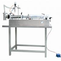 Best Semi-automatic Horizontal Self-suction Ointment / Cosmetic Cream Filling Machine 60-1000ml wholesale