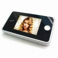 China Digital Door Viewer,Peephole Viewer,2.8-inch LCD,Easy to Change Batteries without Disassemble on sale