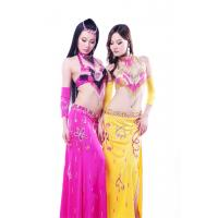Best High class 5pc set sexy professional pink belly dance costumes for adult wholesale