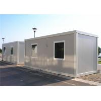 Steel Door Flat Pack Container House , Single Container House For Sentry Box