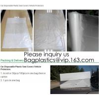 Best Car Disposable Plastic Seat Covers Vehicle Protectors, Five Set of Vehicle Maintenance Protection, Masking Dust Covers wholesale