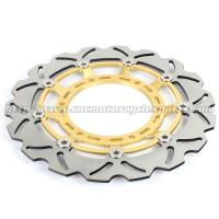 Buy cheap 320mm Durable Wave Floating Motorcycle Brake Discs for Yamaha XT600X from wholesalers