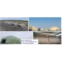 Best large inflatable hangar, large PVC air inflatable military tent wholesale