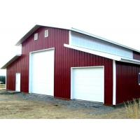 China Qualified Steel Structure Warehouse Light Gauge Steel Buildings For Storage on sale