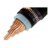 Best Medium Voltage XLPE Insulated Power Cable Single Core / 3 Core Copper Conductor XLPE Insulated Cable N2XSY wholesale