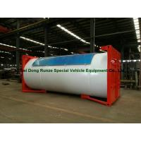 Best Steel 20ft LPG Storage Tanks Container With Pump , LPG Skid Station ASME Certificate wholesale