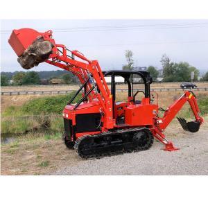Buy cheap Customized Mini crawler Dozer Diesel engine Bulldozer Farm tractor with Front Loader Farm exploration product