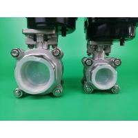Best ON OFF Control Motorized Ball Valve / Actuated Ball Valve PN10-16 Pressure wholesale