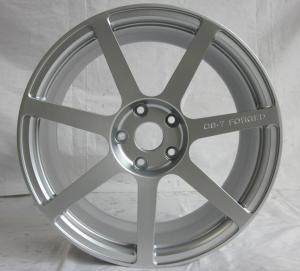 BA11/custom 17inch to 22 inch single wheels /forged wheels/silver 7 spoke rims/Aluminum alloy 6061 T6