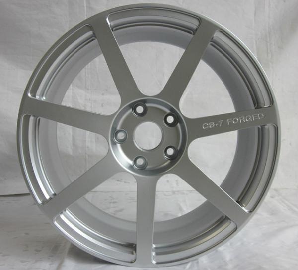 Cheap BA11/custom 17inch to 22 inch single wheels /forged wheels/silver 7 spoke rims/Aluminum alloy 6061 T6 for sale