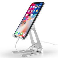 Best COMER Adjustable portable and folding table aluminium tabletop phone hold for i phone tablet support stand holder wholesale