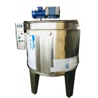 SSS304 Material Chocolate Melting Machine Customized Voltage For Cream
