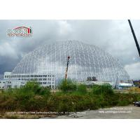 Best 50m Diameter Geodesic Dome Tents With Doors & Ventilation For Exhibition wholesale
