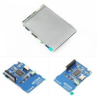 China HDMI Input LCD Driver Board 3.5'' 480x320 Raspberry Pi HDMI Display HDMI Audio Output on sale