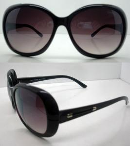 Best Fashion Polarized Plastic Frame Sunglasses With Black AC Lens wholesale