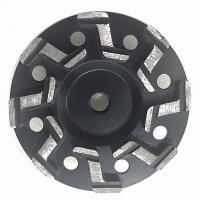 "Best 5"" Inch 7"" Inch S segment Aggressive Diamond Grinding Concrete Cup Wheels for concrete wholesale"