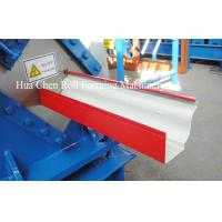 Buy cheap Most Popular color sheet steel metal Rain Gutter roof roll forming machine product