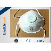 Buy cheap Wuhan China N95 Disposable Face Mask Surgical N95 Respirator With Valve Anti from wholesalers