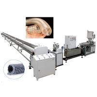 Best Siemens Motor PVC Pipe Extrusion Line TPU Clear Dust Collection Hose Making wholesale
