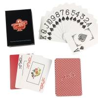 Buy cheap Plastic 0.3~0.32mm Oracle Learning Custom Playing Card CMYK Color Printing from wholesalers