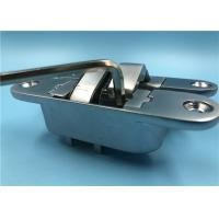 Cheap Pearl Chrome Left Open Concealed Hinges For Interior Doors 35mm Thickness for sale