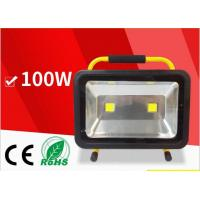 Best 100W Portable rechargeable lithum-ion battery LED flood light outdoor emergency lighting wholesale