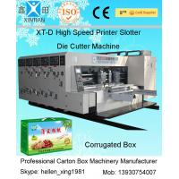 Die-Cutting Electric Carton Making Machine , Automatic Printing Slotting Machine
