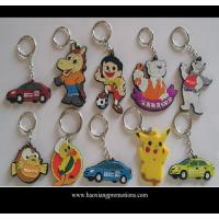 Best Custom promotional silicone rubber keychain,cheap custom fashion souvenir keychain wholesale